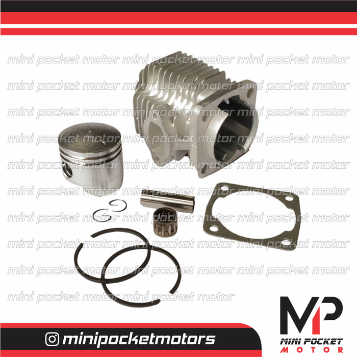 harga Block / buring + piston set 44mm standart motor mini gp trail 49cc 2t Tokopedia.com