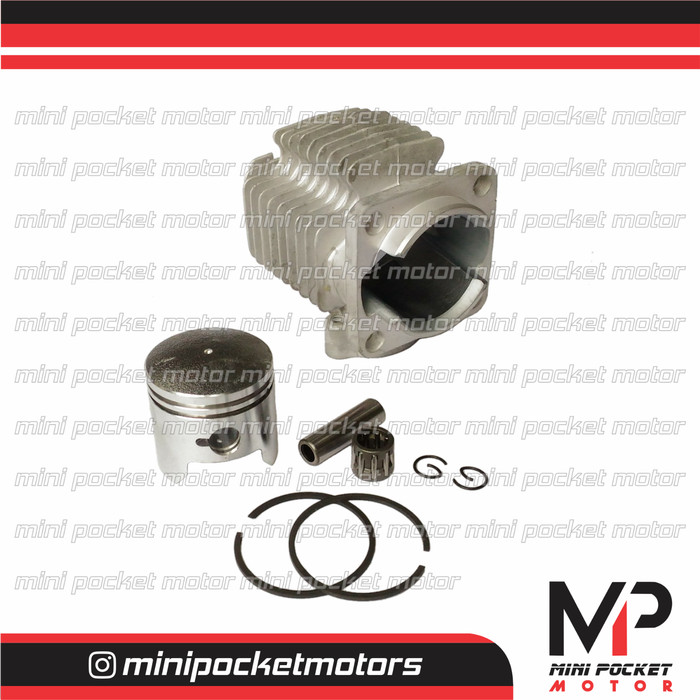 harga Block / buring + piston set 40mm motor mini gp mini trail 49cc 2t Tokopedia.com