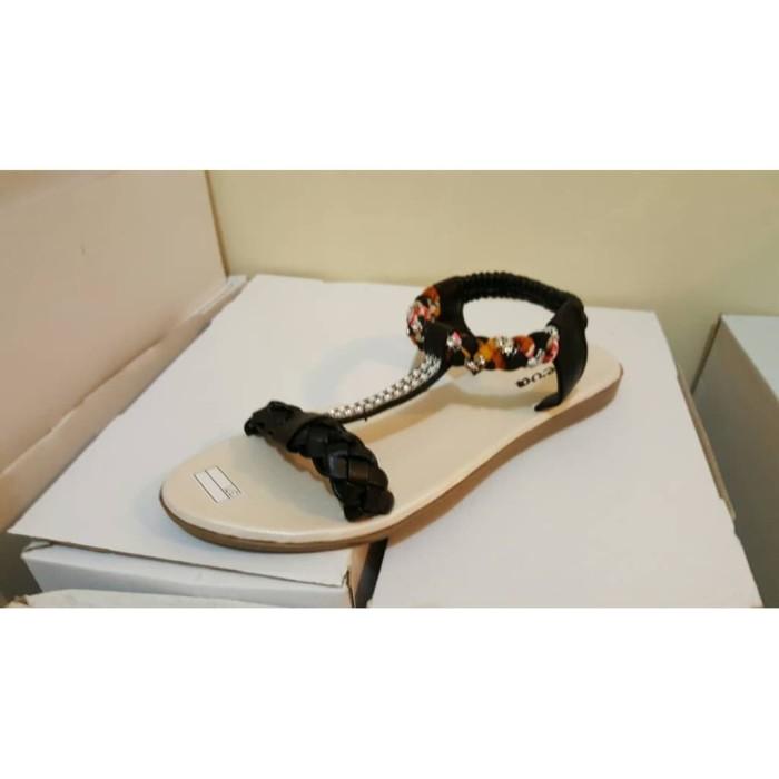Sandal Kepang - Hitam Flip Flop & Sandals Murah Berkualitas PROMO