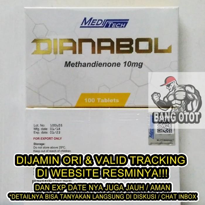 Jual Meditech Dianabol Methandienone 10mg x 100 Tablets / Medi Tech -  Jakarta Utara - BANG OTOT | Tokopedia