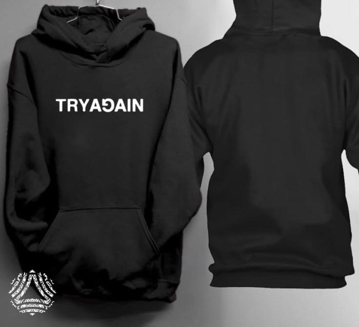 Promo sweater hoodie jumper outerwear pria wanita high quality 1799j
