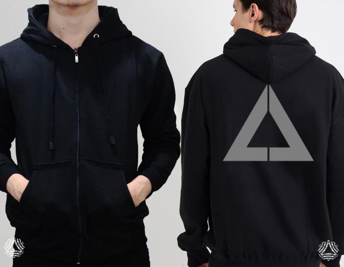 Promo sweater hoodie zipper outerwear pria wanita high quality 1154z