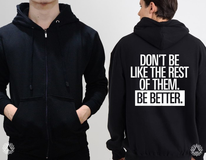 Promo sweater hoodie zipper outerwear pria wanita high quality 1510z