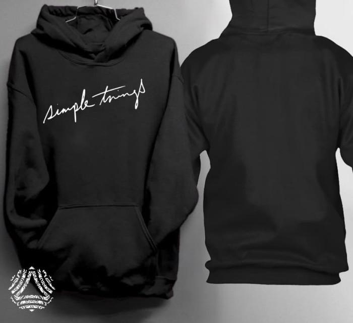 Promo sweater hoodie jumper outerwear pria wanita high quality 1777j