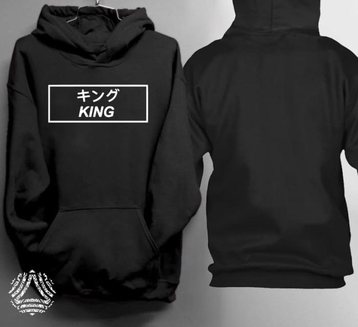 Promo sweater hoodie jumper outerwear pria wanita high quality 1675 j