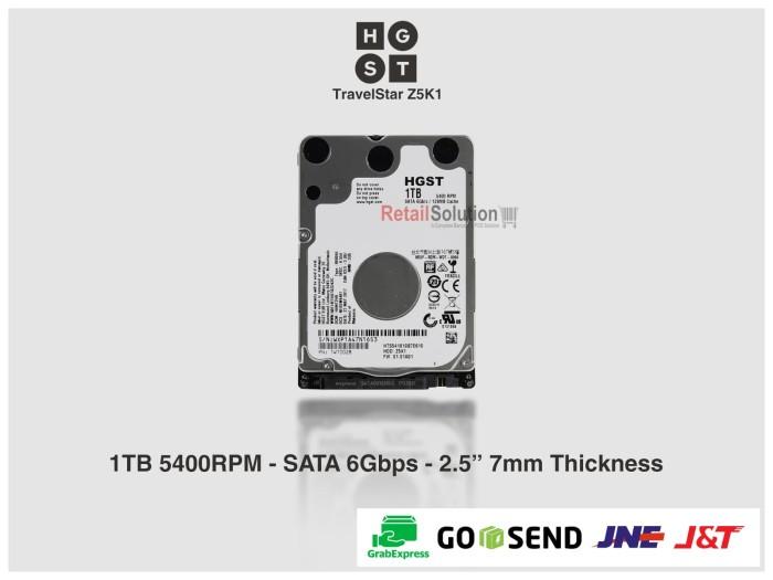 harga Harddisk internal laptop/mini-pc 2.5  hitachi 1tb 5400rpm 9mm Tokopedia.com