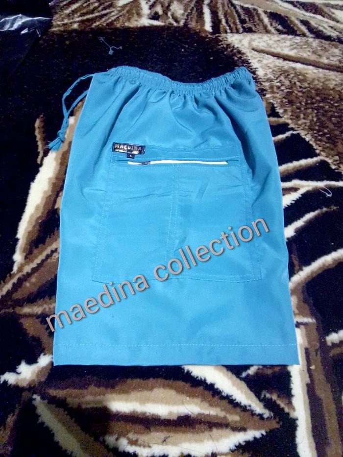 Foto Produk Celana pendek celana kolor bahan besway dari maedina colection