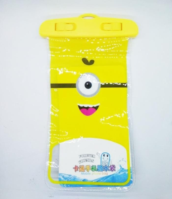 Harga Best Waterproof Case Handphone Casing Hp Tahan Air Multi Karakter Harga Rp 17.000