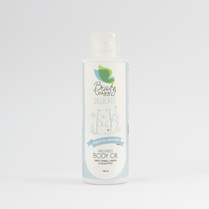Beauty barn delicate - wellness body oil 120ml