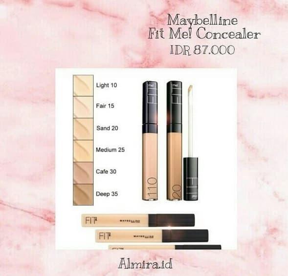 Foto Produk Maybelline Fit Me! Concealer dari Almira.id