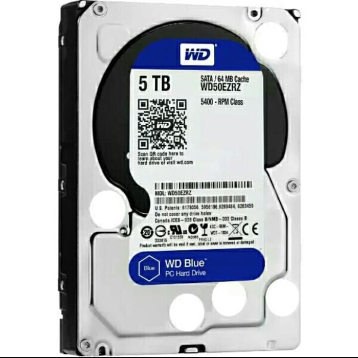 Harddisk WD Blue 5TB