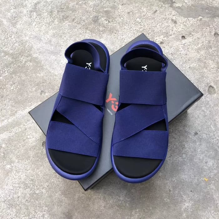 935e15525 Jual BARU Sepatu Sandal ADIDAS Sandal Y3 Qasa Yohji Yamamoto Navy ...
