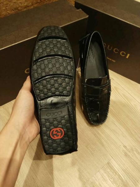 6b64ec99dd7 Jual Sepatu Loafers Sepatu Loafers Gucci Brown - Sepatuking