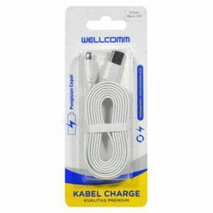 Foto Produk Kabel Data Micro Usb Adroid Welcomm 150cm Fast Charging dari Melipir Store