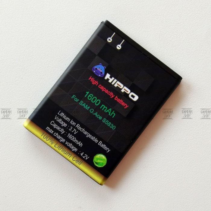 Baterai Hippo Double Power Original Samsung Galaxy Young 1 S6310 Batre