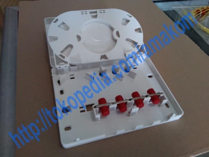 harga Roset optik ftth / indoor optical outlet 4 core fc Tokopedia.com
