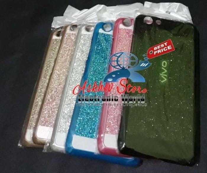 MURAH 0909 Metal case Glitter Vivo Y53 2017 Hardcase hard gliter