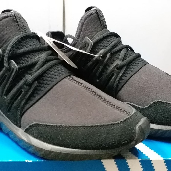 Sneaker Adidas Tubular Radial Full Black BNIB ORIGINAL
