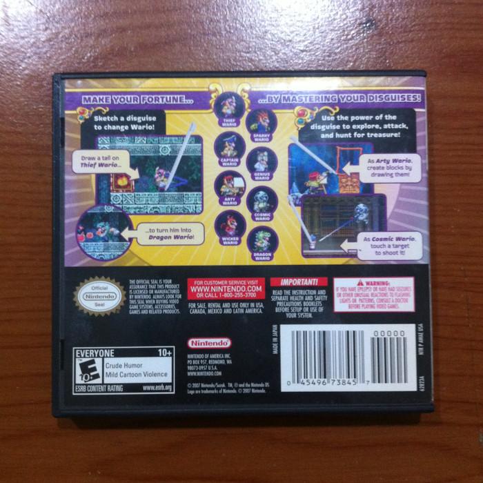 drawing games for nintendo ds Jual Wario Master Of Disguise Nintendo DS NDS Original US Version DKI Jakarta Chrysalid Tokopedia