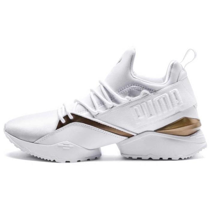 232b0bfd038 Jual Sepatu sneakers Puma original Select Muse Maia Luxe white 136928136 -  Kab. Banyumas - sepatuoriginale   Tokopedia