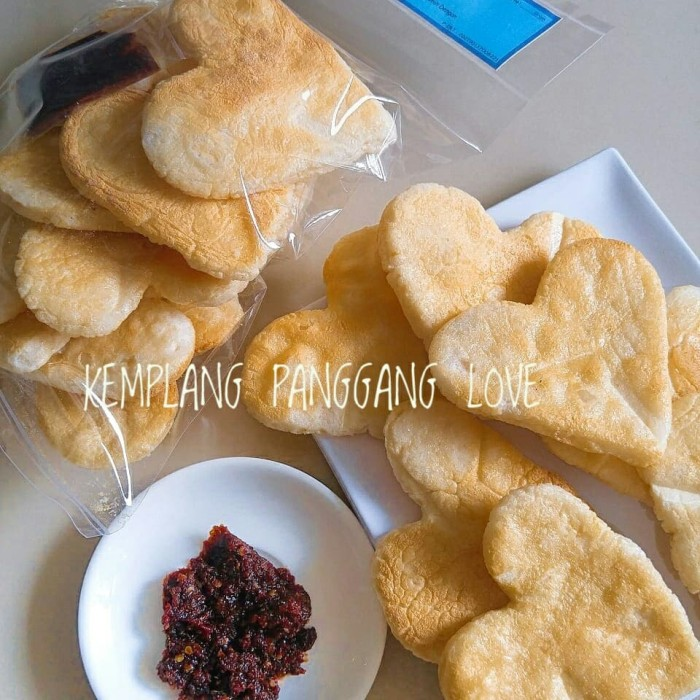Kemplang panggang love belinyu bangka/ makanan khas bangka / oleh oleh