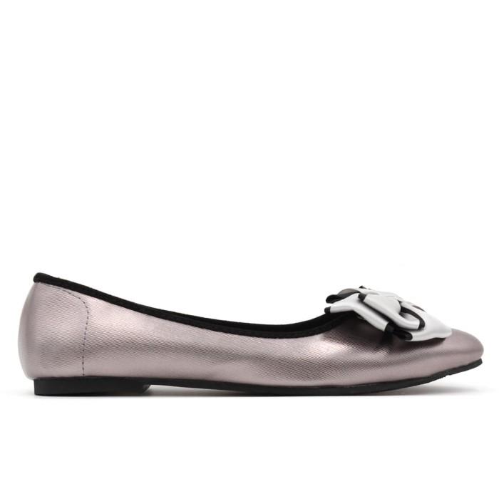 Yongki komaladi abigail flat shoes - grey