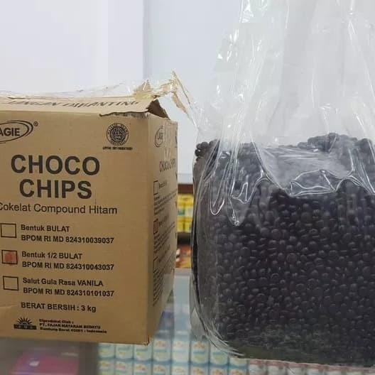 harga Lagie choco chips setengah bulat 3kg Tokopedia.com