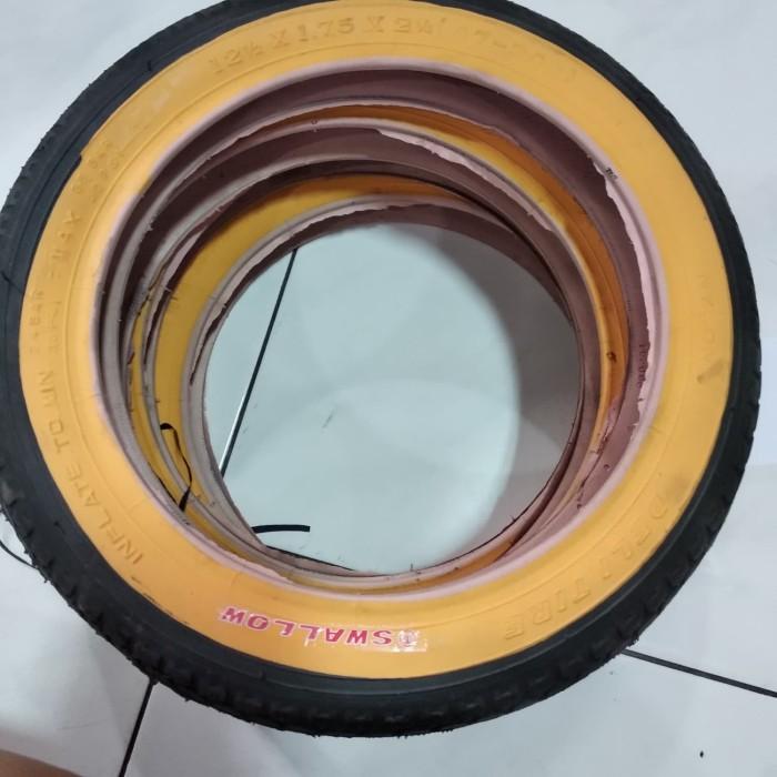 Foto Produk Ban luar sepeda 12 x 1.75 / 12 x 2.125 swallow dari Sekawan Sepeda