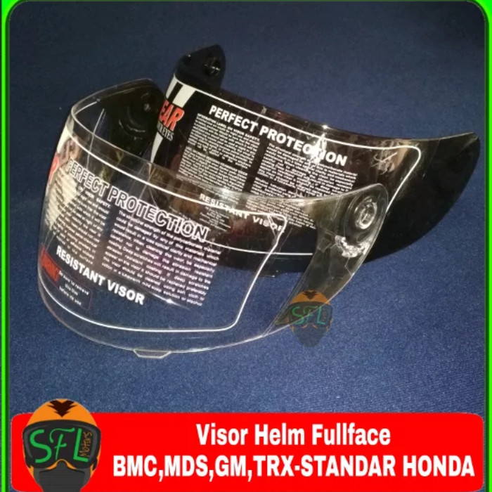 Kaca - Visor Helm Full Face BMC-MDS-GM-TRX-Standar Honda