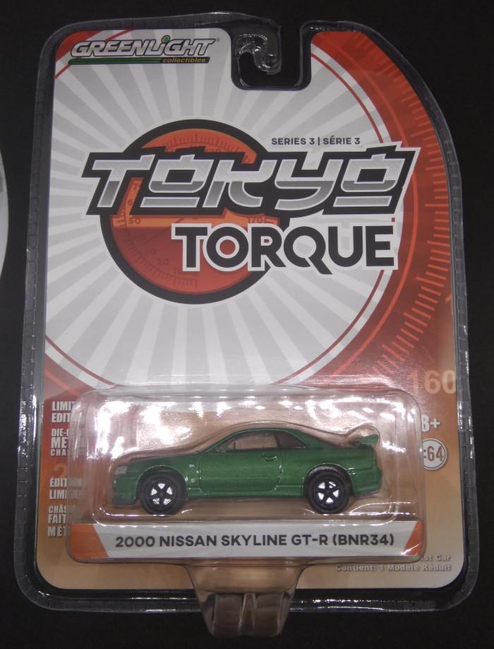 Tokyo Torque Greenlight Nissan Skyline GT-R (BNR34)