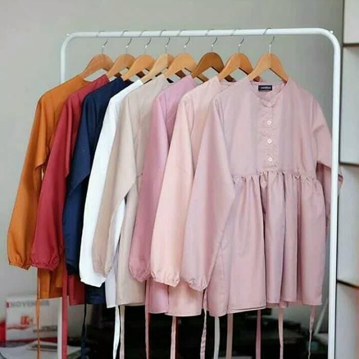 Jual Blouse Dress Atasan Muslim - Harga Coret 361b58050a