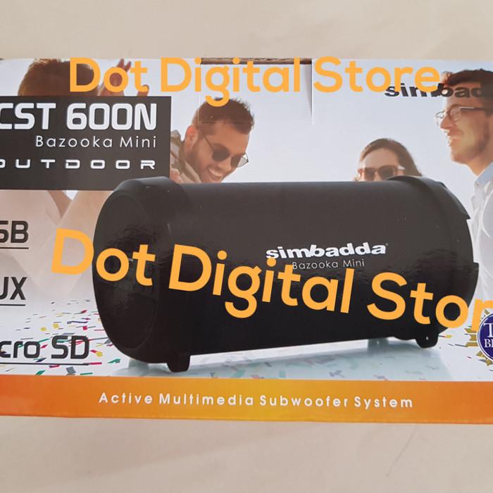 harga Simbadda cst 600n cst600n cst 600n bazooka mini bluetooth speaker Tokopedia.com