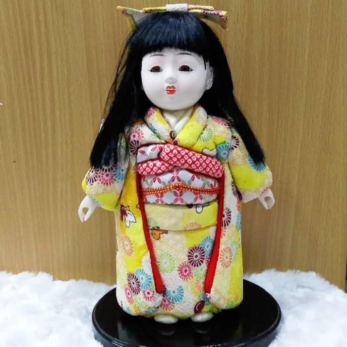 Boneka geisha boneka jepang pajangan boneka kimono jepang geisha dolls 5e586c565c