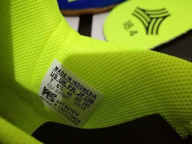 219f0087d892 Jual Sepatu Futsal Adidas X Tango 18.4 Energy Mode Blue Volt - Kab ...
