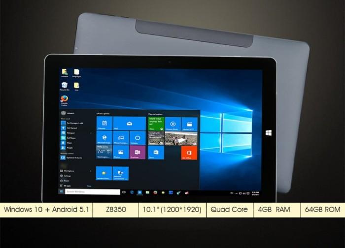 harga Onda obook20 plus 4/64gb intel x5 z8350 dualos windows 10 + android Tokopedia.com