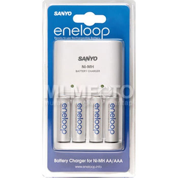 HIGH QUALITY Sanyo Charger Quick 2Hr 4Eneloop (Wall Plug In) Case