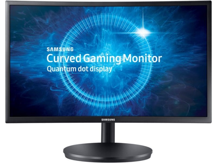 harga Samsung curved led gaming monitor 23.5 inch [lc24fg70fqexxd] Tokopedia.com
