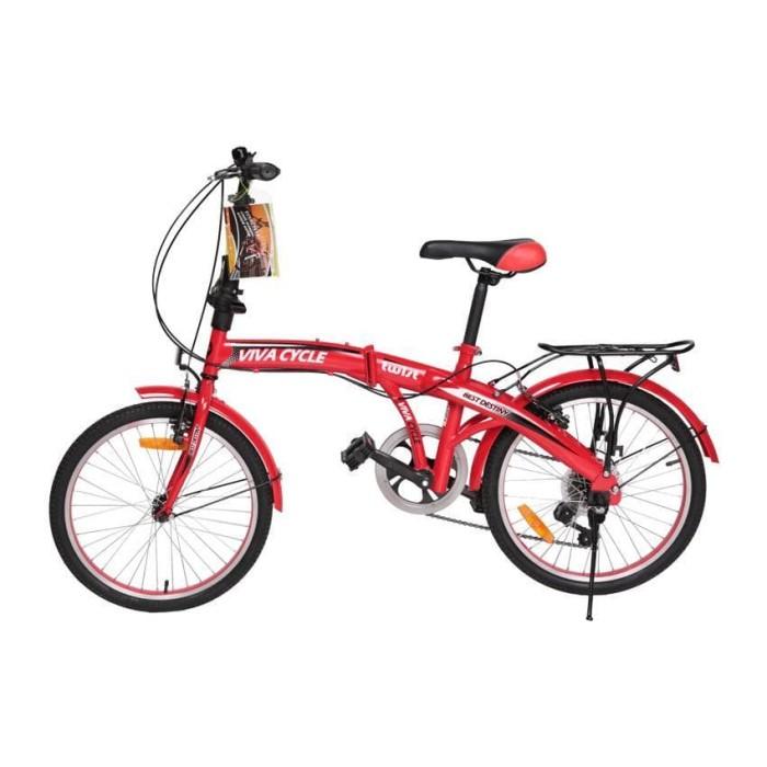 Jual Sepeda lipat santai viva cycle Kota Semarang toko