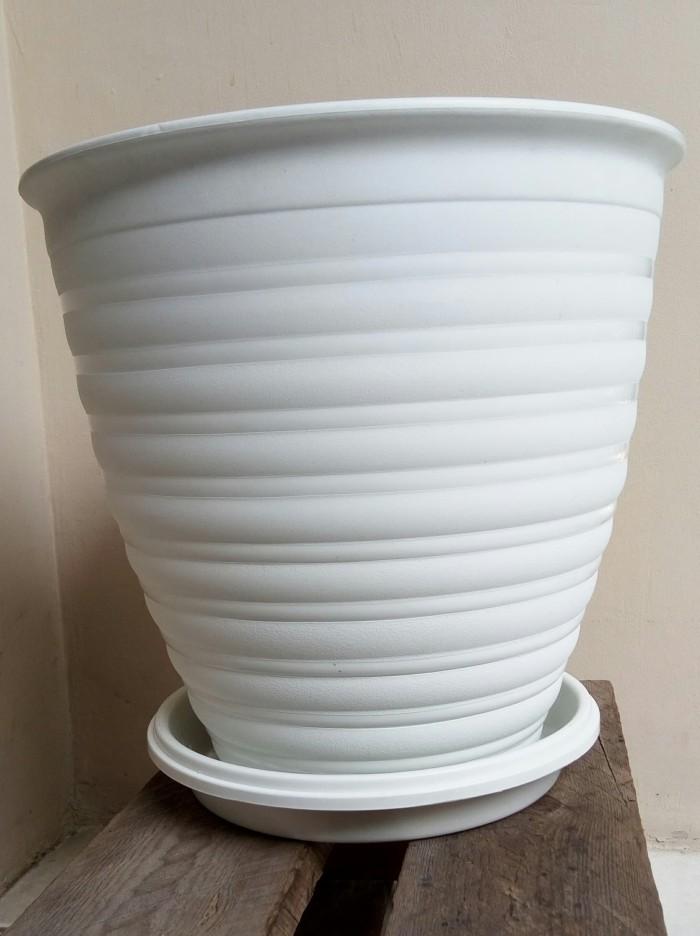 harga Pot bunga tawon pirus 301 putih Tokopedia.com