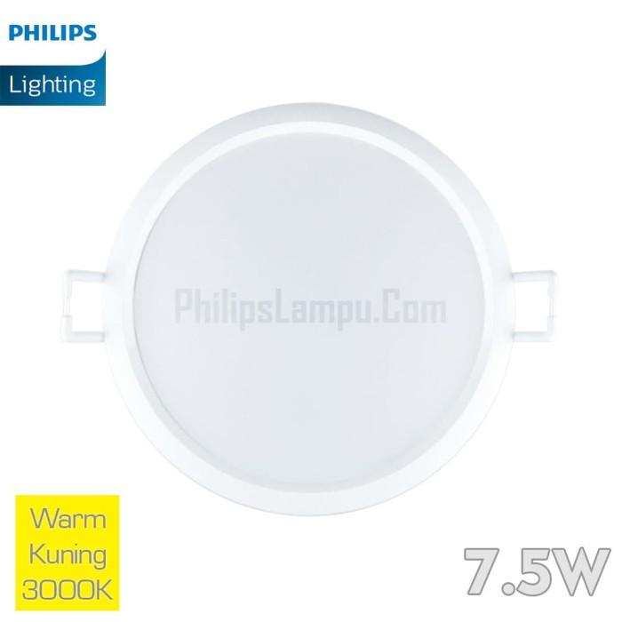 Foto Produk Lampu Downlight LED Philips 7,5W 59263 Eridani 7.5w Warm White Kuning dari philipslampu