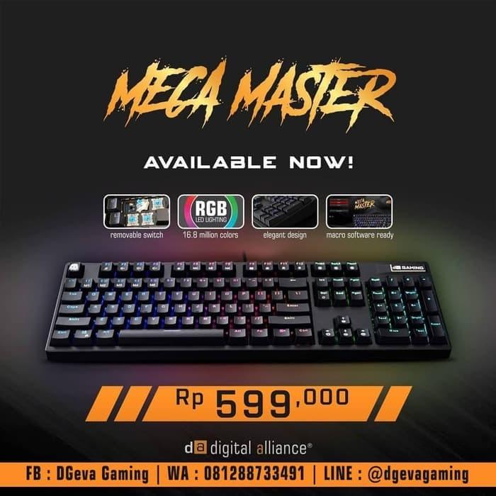 1071e1cfeec Review Digital Alliance DA Meca Master RGB - Mechanical Gaming ...