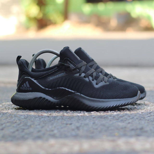 231adf651 Jual Sepatu Adidas Alphabounce Beyond Import Triple Black   Hitam ...