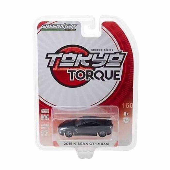 Greenlight Tokyo Torque Series 2 2015 Nissan GTR R35 Diecast