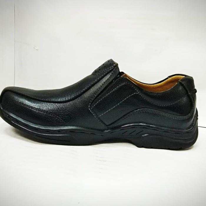 Jual Sepatu Kulit Pria GATS - MP 2601 Black - Hitam d8bf58d99d