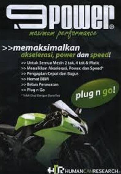 9POWER 9 POWER BOOSTER PENGUAT ARUS PENGHEMAT BBM MOTOR & MOBIL.