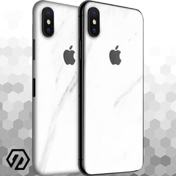 harga [exacoat] iphone xs max 3m skin / garskin - marble white Tokopedia.com