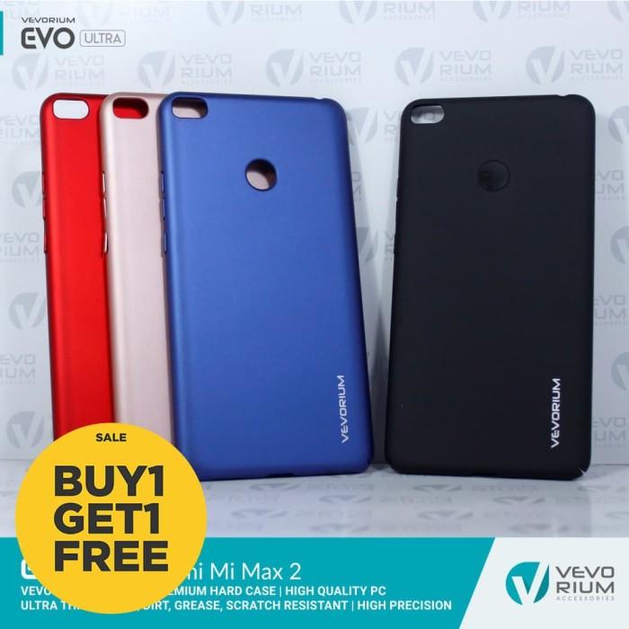 buy popular 42631 aa630 Jual Xiaomi Mi Max 2 Mimax 2 VEVORIUM Premium Hard Case Hardcase Back Cover  - HITAM PLUSBONUS - Kota Surabaya - Vevorium   Tokopedia