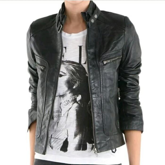 Jaket kulit wanita 0023