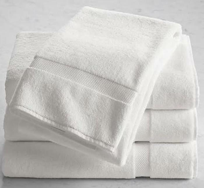 Foto Produk handuk jumbo dewasa putih 70x140 dari Makmur Tanah Abang