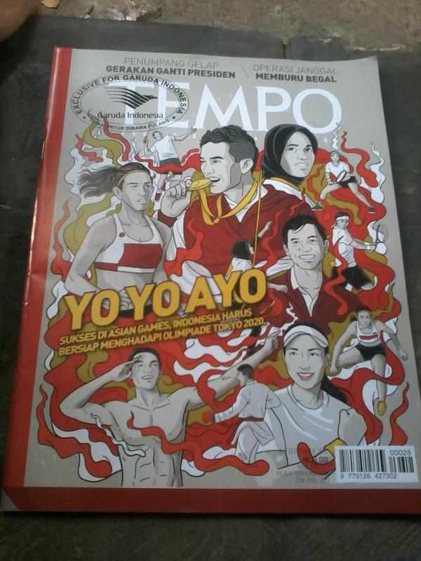 harga Tempo yo yo ayo edisi asian games. Tokopedia.com
